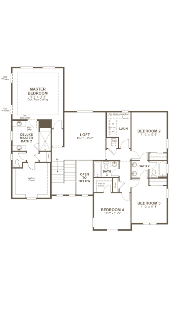 Daley second level, a Beautiful Colorado Model New Home by Richmond American