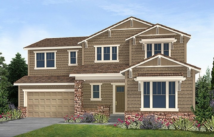 Residence 5C03, a Beautiful Colorado Model New Home by CalAtlantic