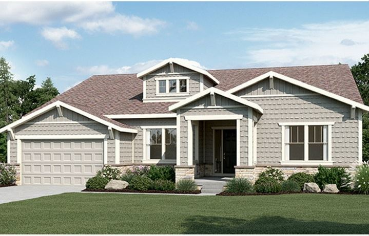 Residence 6A01, a Beautiful Colorado Model New Home by CalAtlantic