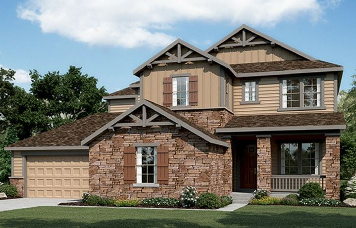 Residence 6C01, a Beautiful Colorado Model New Home by CalAtlantic