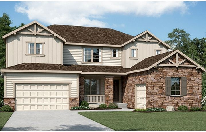 Residence 6C03, a Beautiful Colorado Model New Home by CalAtlantic