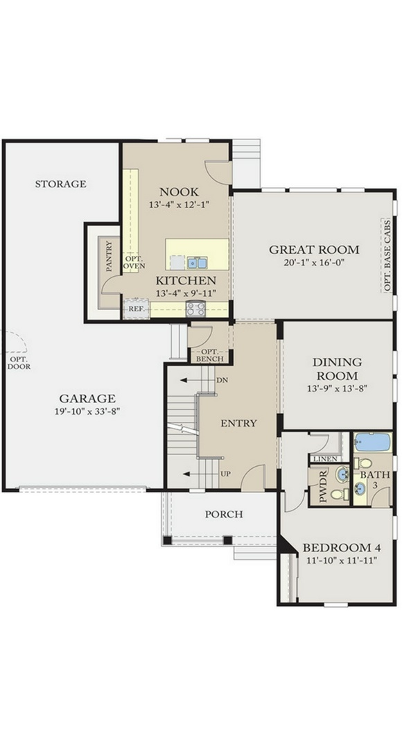 Calatlantic Homes 5c03 Plan In Anthem New Homes