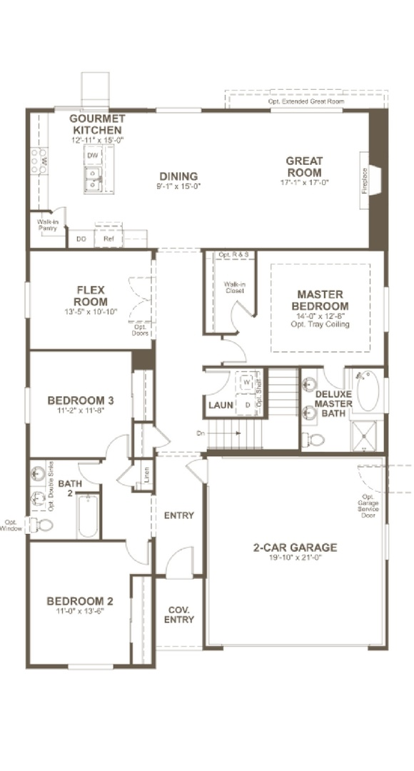 Alcott main level, a Beautiful Colorado Model New Home by Richmond American