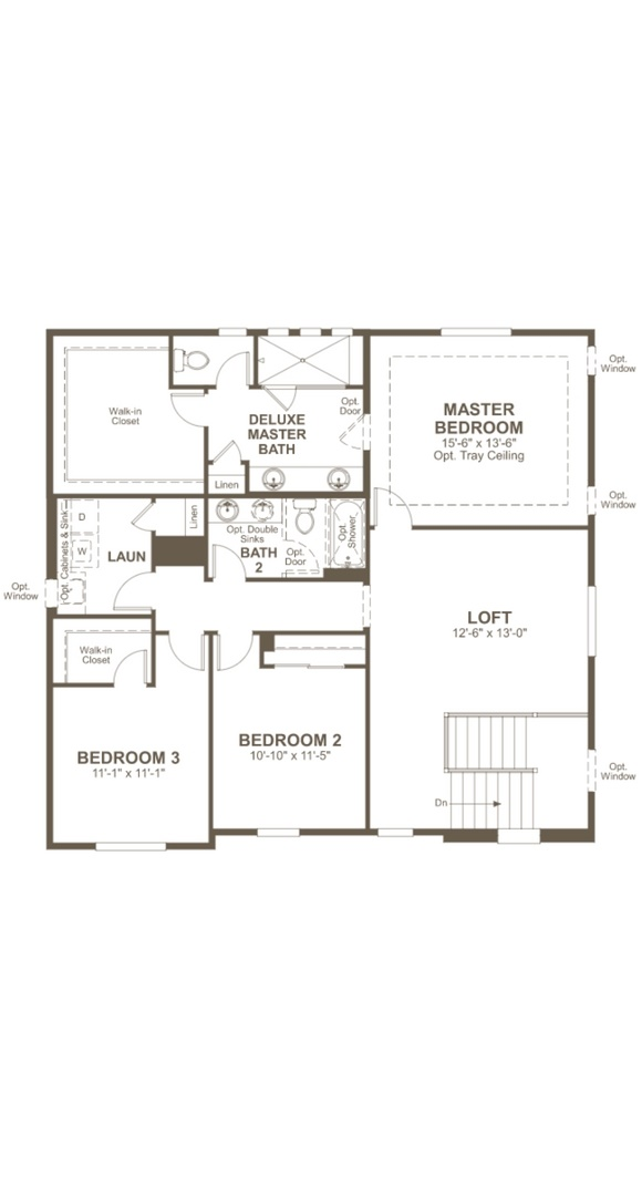 Bedford second level, a Beautiful Colorado Model New Home by Richmond American