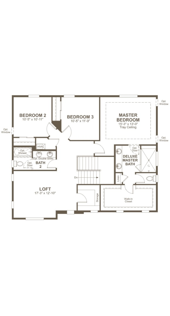 Skylar second level, a Beautiful Colorado Model New Home by Richmond American