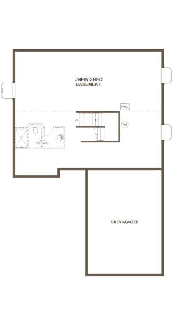 Skylar basement, a Beautiful Colorado Model New Home by Richmond American