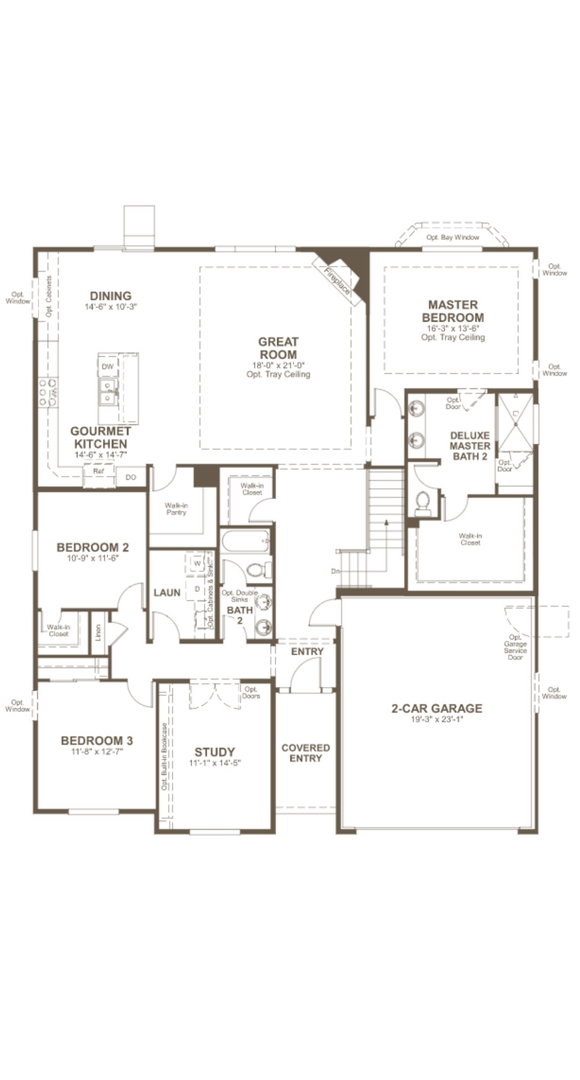 Daniel main level, a Beautiful Colorado Model New Home by Richmond American
