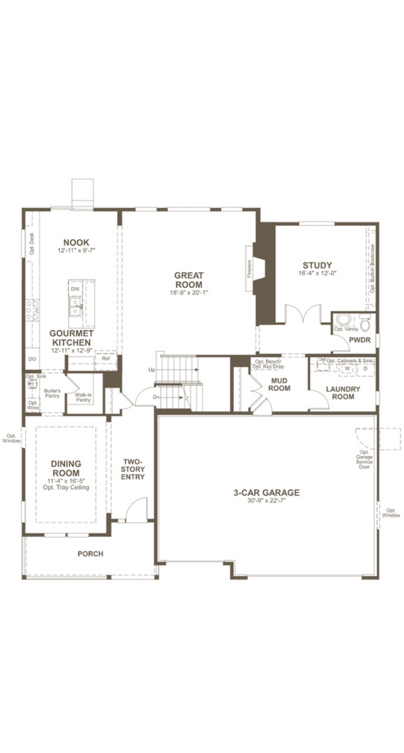 Dillon II main level, a Beautiful Colorado Model New Home by Richmond American