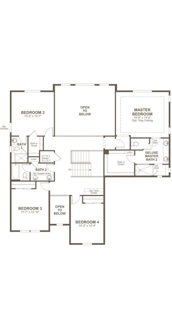 Dillon II second level, a Beautiful Colorado Model New Home by Richmond American