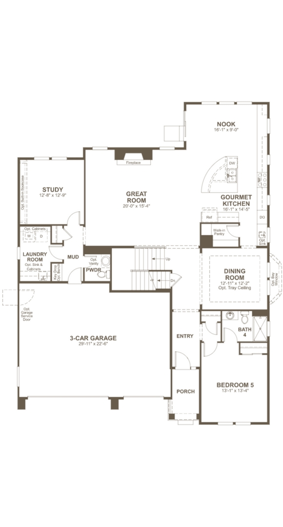 Dayton main level, a Beautiful Colorado Model New Home by Richmond American