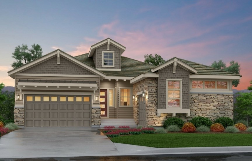 Escape, a Beautiful Colorado Model New Home by Epic Homes