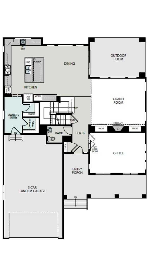 Ascend main level, a Beautiful Colorado Model New Home by Epic Homes