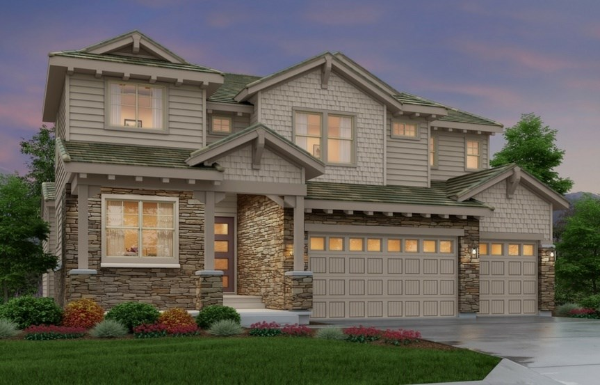 Summit, a Beautiful Colorado Model New Home by Epic Homes