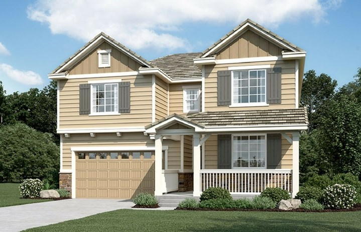 Coronado, a Beautiful Colorado Model New Home by Richmond American