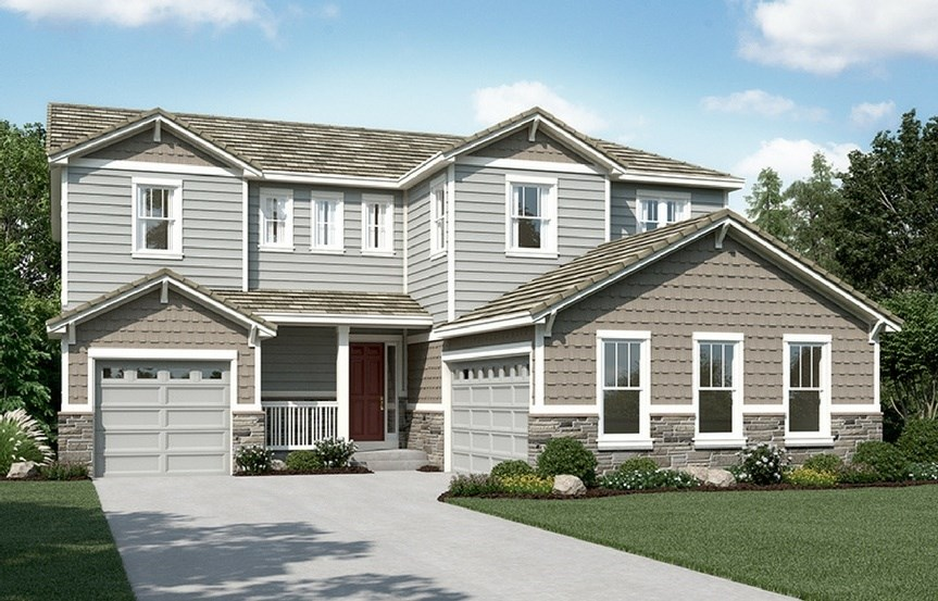 Daley, a Beautiful Colorado Model New Home by Richmond American