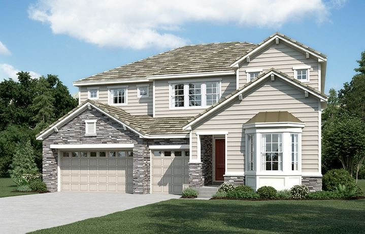Dayton, a Beautiful Colorado Model New Home by Richmond American