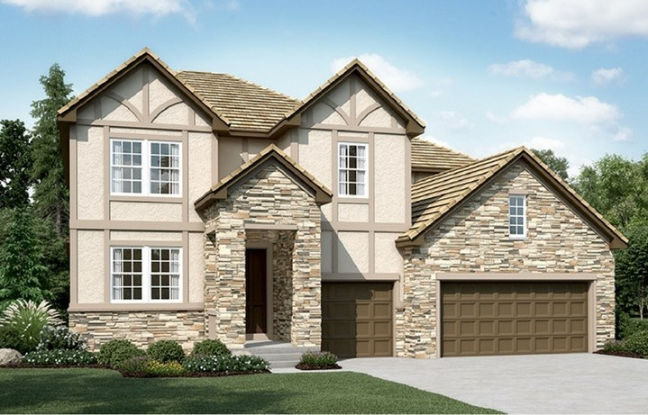Dillon II, a Beautiful Colorado Model New Home by Richmond American