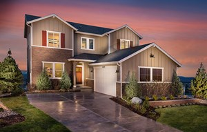 new home in master-planned community Anthem Colorado in Broomfield
