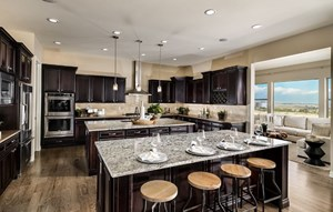 Residence 5C05 kitchen, a Beautiful Colorado Model New Home by CalAtlantic