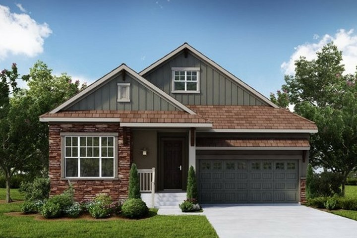 Windpointe, a Beautiful Colorado Model New Home by David Weekley (55+)