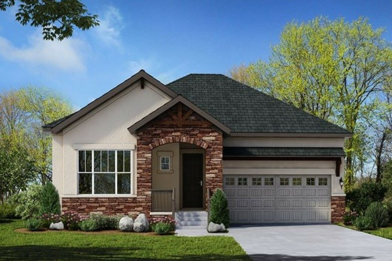 Burkwood, a Beautiful Colorado Model New Home by David Weekley (55+)