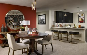 David Weekley Dining - 55+ Model Home in Anthem Broomfield, CO