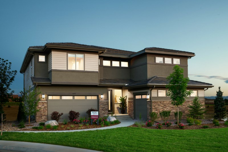Pinnacle, a Beautiful Colorado Model New Home by Epic