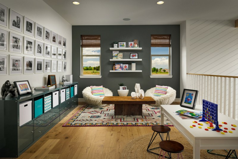 Pinnacle loft, a Beautiful Colorado Model New Home by Epic