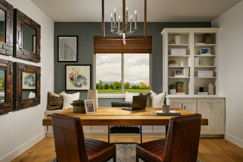 Pinnacle study, a Beautiful Colorado Model New Home by Epic
