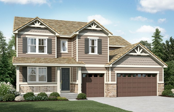 New home at 16217 Pikes Peak Dr by Richmond American | Anthem Highlands, Broomfield CO