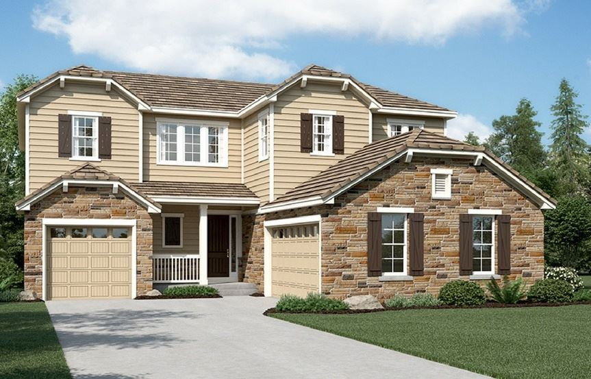 New home at 16195 Bushnell Peak by Richmond American | Anthem Highlands, Broomfield CO