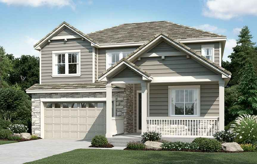 Hopewell, a Beautiful Colorado Model New Home by Richmond American