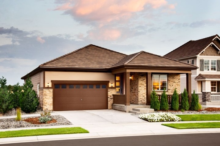 Arlington, a Beautiful Colorado Model New Home by Richmond American in Anthem