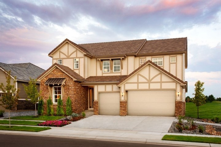 Dayton, a Beautiful Colorado Model New Home by Richmond American in Anthem