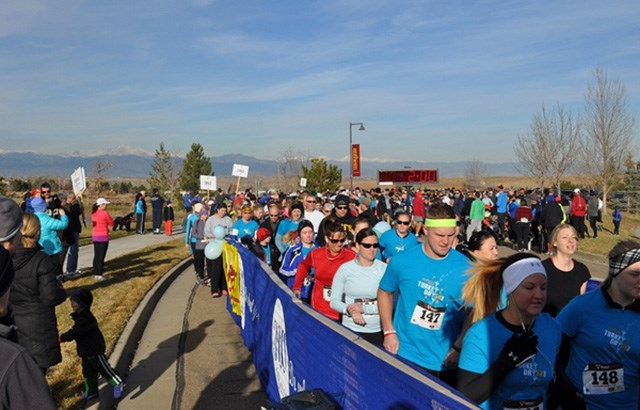 Turkey trot in Anthem