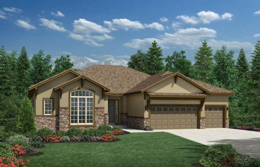 New home for sale at 15828 Fishers Peak Dr by Toll Brothers (55+)