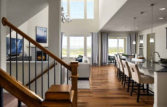 Lennar living room - a beautiful plan in Anthem Highlands