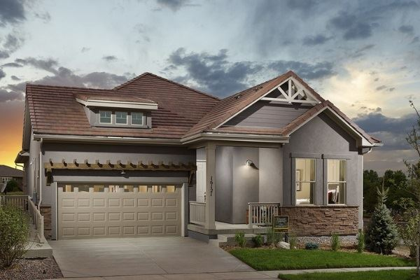David Weekley Encore 55+ New Home Builder in Broomfield Colorado