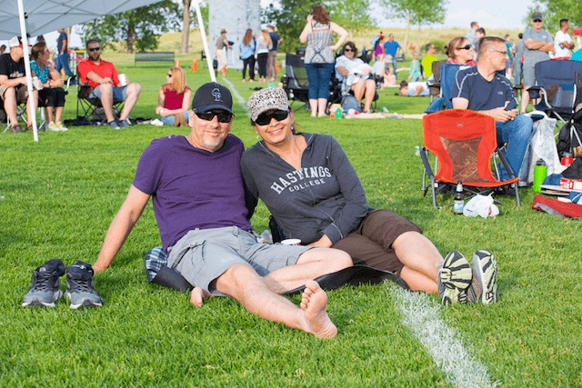 Movie in the Park Resident Event in Anthem Colorado Community Broomfield