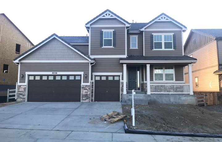 New home at 16226 Ute Peak Way by Richmond American | Anthem Highlands, Broomfield CO