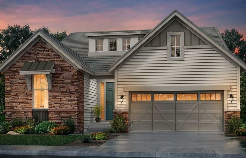 New home at 3042 Grizzly Peak Dr by Lennar | Anthem Colorado