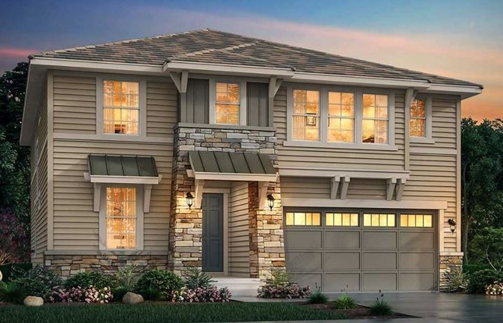 New home at 3032 Grizzly Peak Dr by Lennar | Anthem Colorado