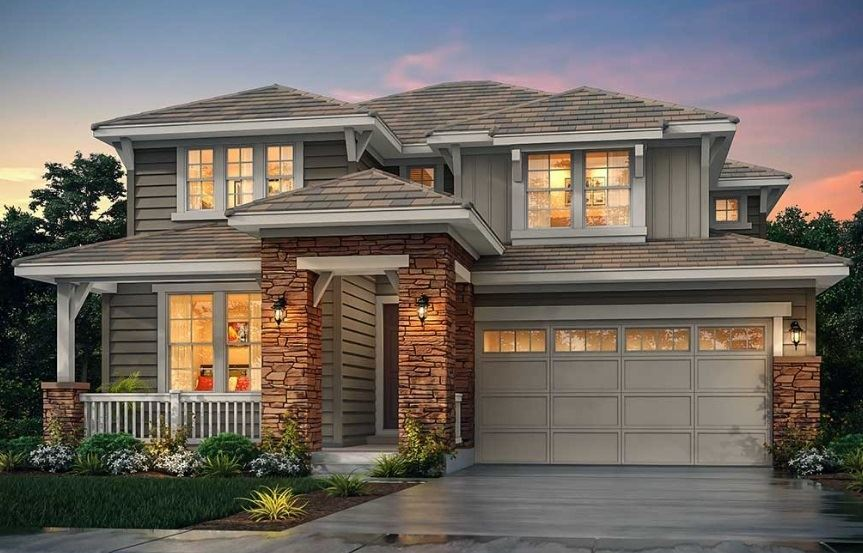 New home at 3012 Grizzly Peak Dr by Lennar in Anthem Colorado