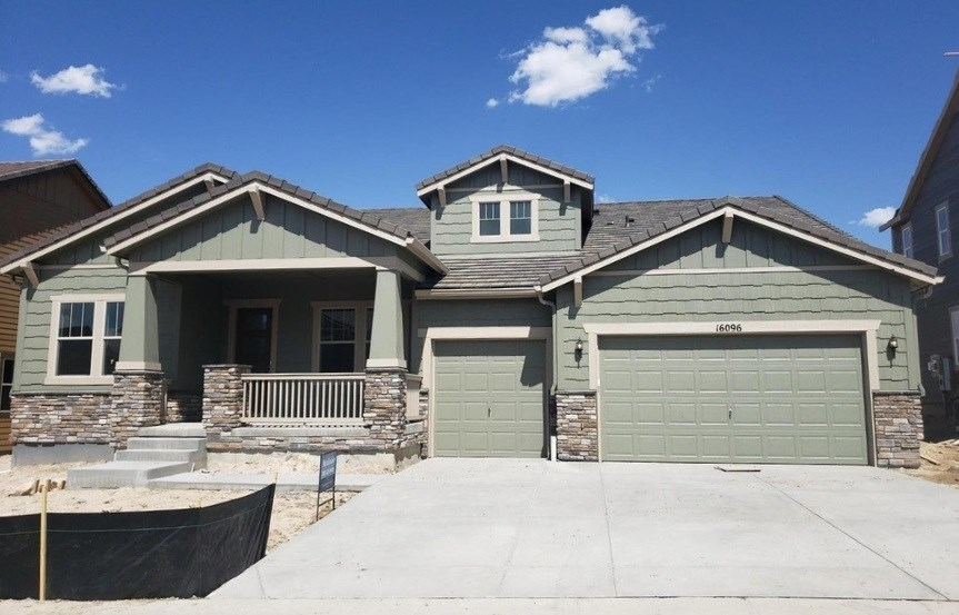 New home for sale at 16096 Swan Mountain Dr by CalAtlantic | Anthem Colorado