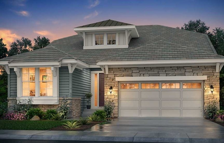New home at 16244 Beckwith Run by Lennar | Anthem Colorado