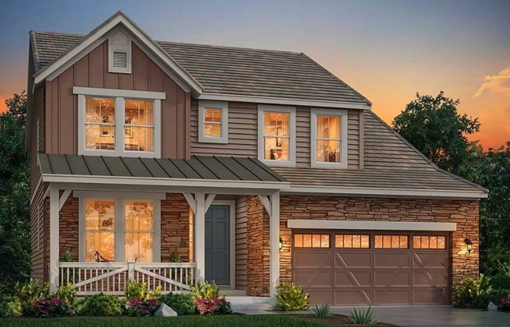 New home at 3082 Grizzly Peak Dr by Lennar | Anthem Colorado