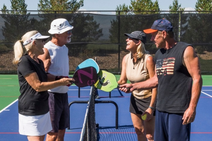 Pickleball and Tennis in Anthem Ranch Broomfield CO