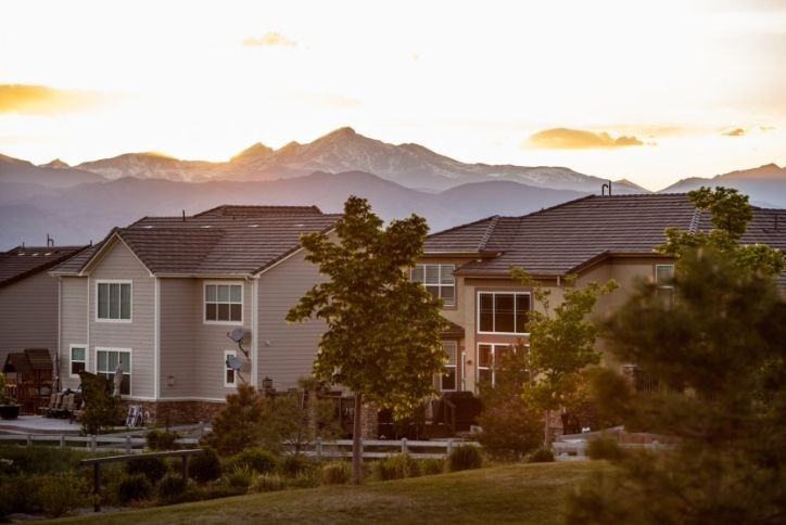 new homes in Anthem master-planned community Broomfield Colorado