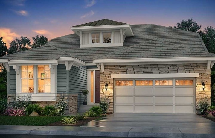 New home at 16323 Mount Mestas Way by Lennar | Anthem Highlands