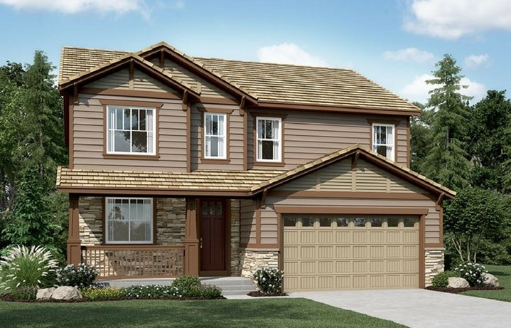New home at 16309 Mount Silverheels by Richmond American | Anthem Highlands